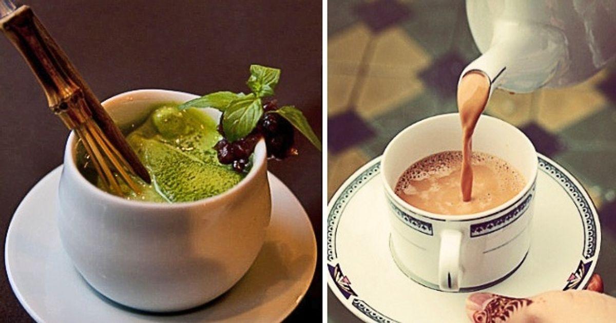 21 مثالاً رائعاً على أشكال وأنواع الشاي حول العالم