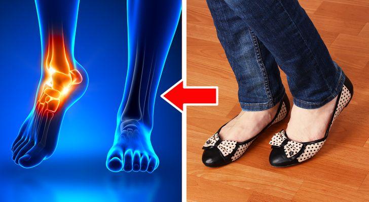 6 أنواع من الأحذية قد تلحق أذى بليغاً بجسمك