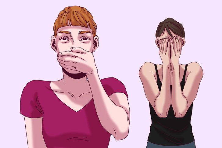 تفسير الضحك المفاجئ في المواقف الجدية و6 طرق توقفه في بضع ثوان