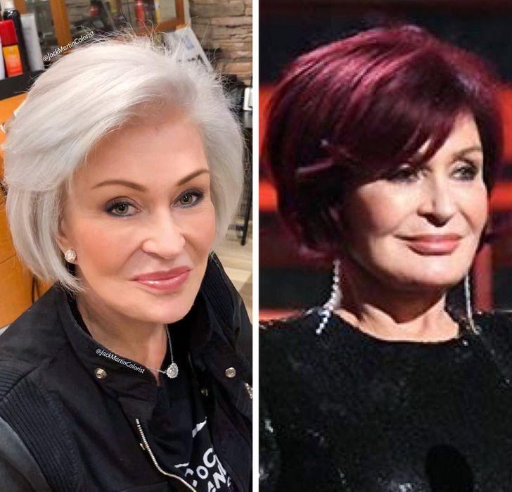 مصفف شعر عالميّ يظهر للنساء جمال الشعر الأبيض ليتوقفن عن صبغ شعرهن